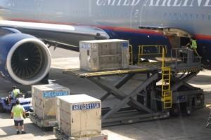 航空機への貨物積載
